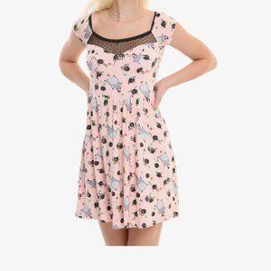 Her Universe Spirited Away Soot Sprite Dress XL